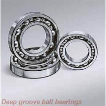 45 mm x 100 mm x 25 mm  NSK 6309N deep groove ball bearings