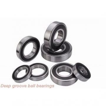 25 mm x 47 mm x 8 mm  NSK 16005 deep groove ball bearings