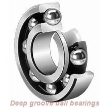 90 mm x 140 mm x 24 mm  NTN 6018ZZ deep groove ball bearings
