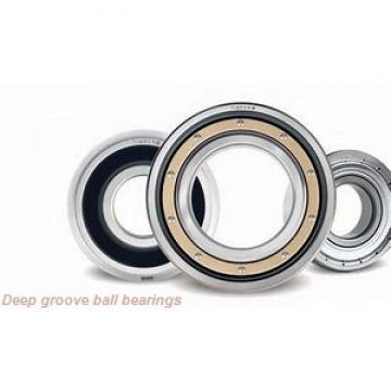 260 mm x 480 mm x 80 mm  FAG 6252-M deep groove ball bearings