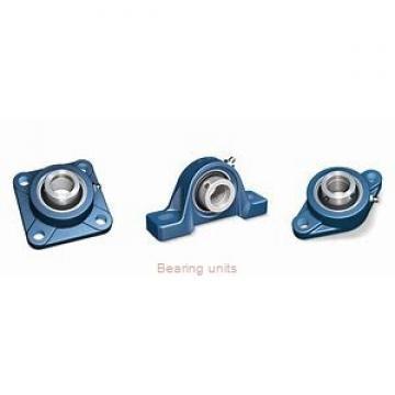 55 mm x 22 mm x 42 mm  NKE PTUE55 bearing units
